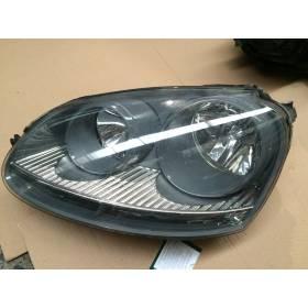 Optique / Double projecteur avant conducteur pour VW Golf 5 ref 1K6941005A / 1K6941005C / 1K6941029C