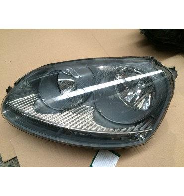 Optique / Double projecteur avant conducteur pour VW Golf 5 ref 1K6941005A / 1K6941005C / 1K6941029C