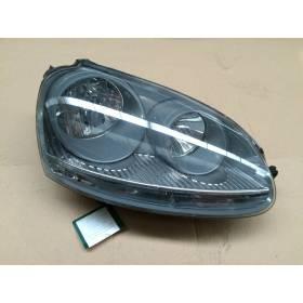 Optique / Double projecteur avant passager pour VW Golf 5 ref 1K6941006A / 1K6941006C / 1K6941030C