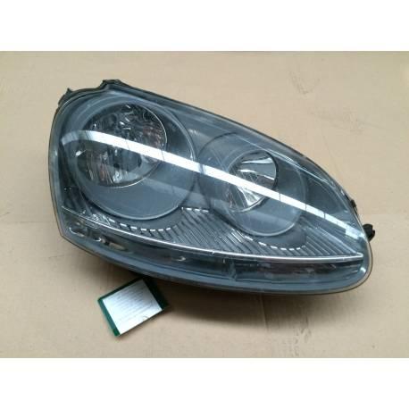 optique double projecteur avant passager pour vw golf 5 ref 1k6941006a 1k6941006c. Black Bedroom Furniture Sets. Home Design Ideas