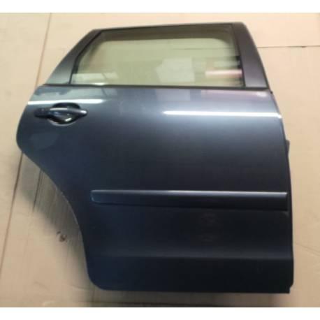 Porte arrière passager coloris gris foncé LC7V pour VW Polo 9N ref 6Q6833056H