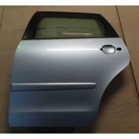 Porte arrière conducteur coloris gris clair LA7W pour VW Polo 9N ref 6Q6833055H