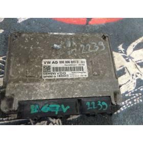 Calculateur moteur   VW / Seat / Skoda 1L2 Essence moteur BME / BXV ref 03E906023D Ref Siemens 5PW40502-04