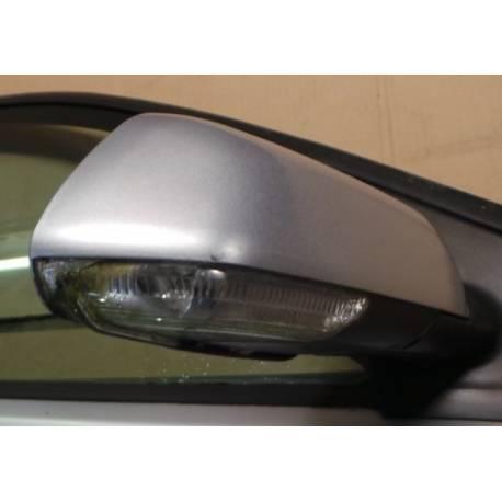 Rétroviseur passager électrique coloris gris clair LA7W pour VW Polo 9N de 2005 à 2010 ref 6Q2857508T