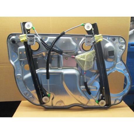 Mécanisme de lève-vitre avant passager sans moteur pour VW Polo 9N 5 portes ref 6Q4837462K / 6Q0035411A