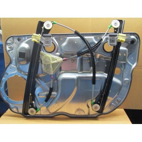 Mécanisme de lève-vitre avant conducteur sans moteur pour VW Polo 9N 5 portes ref 6Q4837461K 6Q4837401T