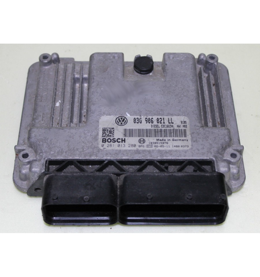 motor unidad de control ecu seat leon 2l tdi 140 bkd ref 03g906021ll ref bosch 0281013280. Black Bedroom Furniture Sets. Home Design Ideas
