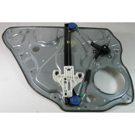 Mécanisme de lève-vitre arrière passager sans moteur pour VW Polo 9N 5 portes ref 6Q4839462D