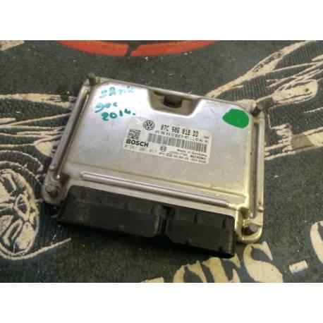 Calculateur moteur pour VW ref 07C906018DD / 07C906018EC / Ref Bosch 0261201617