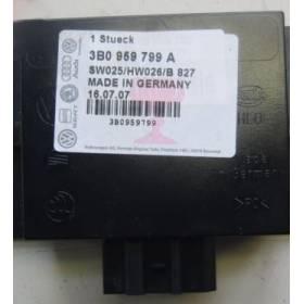 Boitier confort / Commande centralisée pour système confort ref 3B0959799A