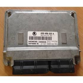 Calculateur moteur pour Seat Ibiza / Skoda Fabia 1L2 essence moteur AWY ref 03D906032A Ref Siemens 5WP40060 06