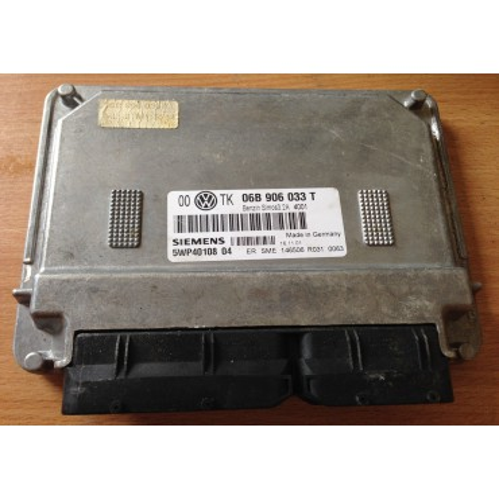 Calculateur moteur pour VW Passat / Skoda Superb / Seat Ibiza 2L essence ref 06B906033T / 06B906033AL Ref Siemens 5WP40108 04