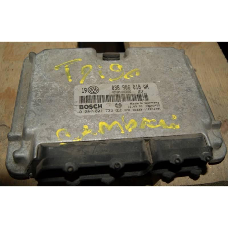 calculateur moteur pour vw golf 4 bora new beetle l9 tdi ref 038906018an ref bosch 0281001733. Black Bedroom Furniture Sets. Home Design Ideas