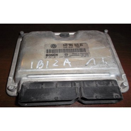 Calculateur moteur pour Seat Ibiza / Cordoba 1L4 TDI ref 045906019BG / Ref Bosch 0281011244
