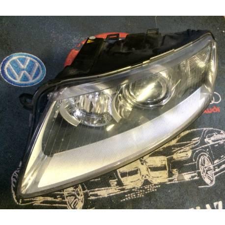Phare optique projecteur Xenon avant conducteur pour Audi A6 4F ref 4F0941029AK / 4F0941029EA