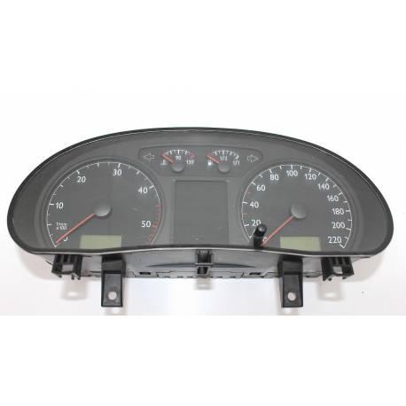 Compteur / combiné port-instruments pour VW Polo 9N ref 6Q0920820L / 6Q0920820LX