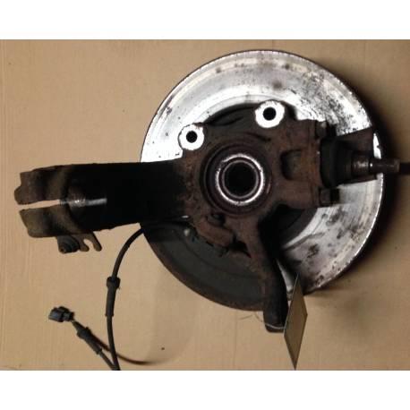 Fusée cache roulement avant conducteur avec moyeu pour VW Sharan / Seat Alhambra ref 7M0407255G