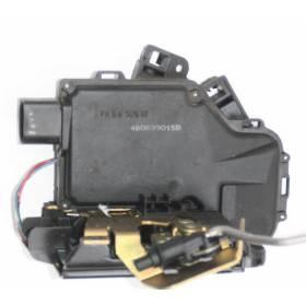 Serrure de centralisation avec contacteur de porte arrière coté conducteur pour Audi A6 / S6 / RS6 ref 4B0839015B / 4B0839015G