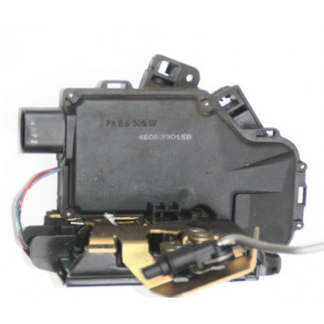 Serrure de centralisation avec contacteur de porte coté conducteur pour Audi A6 / S6 / RS6 ref 4B0839015B / 4B0839015G