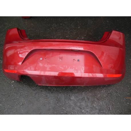 Pare-chocs arrière pour Seat Leon 2 coloris rouge bordeaux LS3X ref 1P0807421 GRU
