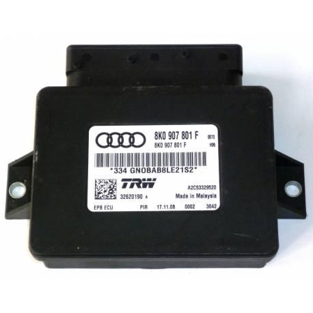 Calculateur frein stationnement électromécanique pour Audi A4 / A5 / Q5 ref 8K0907801H /  8K0907801E TRW