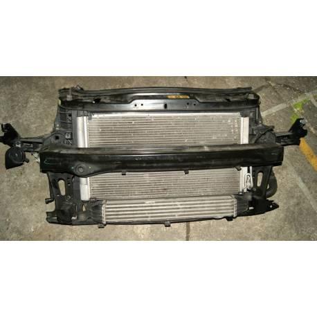 Facade avant complète avec ventilateur / Radiateurs pour Mini Cooper S type R56 ref 2751277-07 / 6941084-03 / 2751275-04
