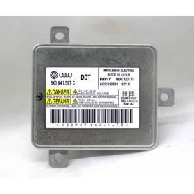 Calculateur pour lampe à decharge de gaz XENON pour Audi / Seat / VW / Skoda ref 8K0941597 / 8K0941597C / 8K0941597E