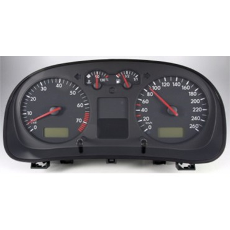 Compteur / combiné porte-instruments pour VW Golf 4 / Bora ref 1J0920825C / 1J0920825CX