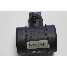 Débitmètre d'air massique pour Audi A2 1L4 TDI ref 057906461A / 057906461AX