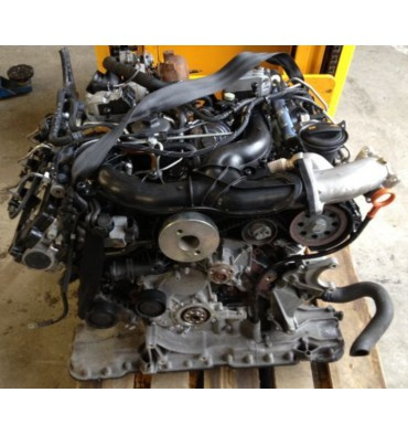 Engine, 3L V6 TDI BMK type, sold without injection, old engine trade-in mandatory.