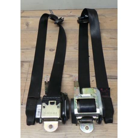 2 ceintures pour Seat Ibiza 6L modèle 3 portes ref 6L3857705E / 6L3857705G /  6L3857705L / 6L3857706E / 6L3857706G / 6L3857706L