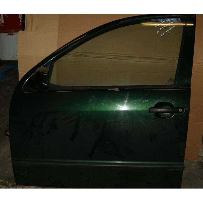 porte avant conducteur mod le 5 portes pour vw golf 5 coloris noir l041 ref 1k4831105g. Black Bedroom Furniture Sets. Home Design Ideas