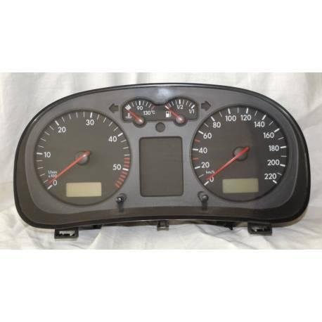Compteur / combiné porte-instruments pour VW Golf 4 / Bora ref 1J0919860B / 1J0919860BX