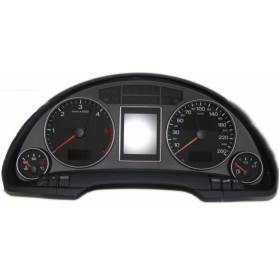 Compteur / combiné porte-instruments pour Audi A4 B7 ref 8E0920900P / 8E0920901B / 8E0920901BX