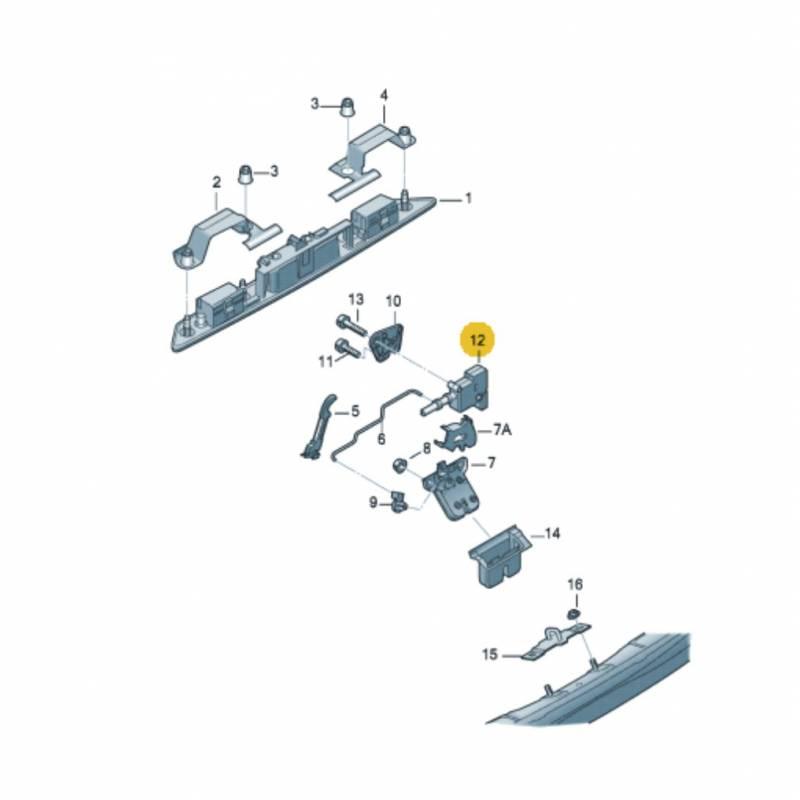 Serrure de coffre bouton poussoir d 39 actionneur lectrique for Serrure pour coffre fort