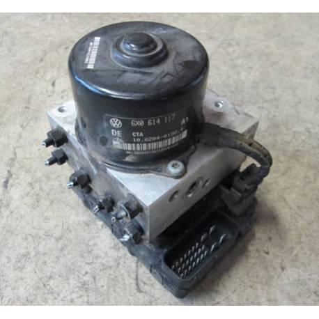 Bloc ABS ref 6X0614117 / 6X0698117 / 6X0907379B / 6X0907375F