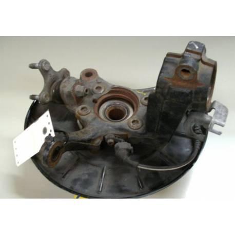 Fusée cache roulement avant passager pour Audi / Seat / VW / Skoda ref 1K0407256N / 1K0407256AA + Moyeu roulement ref 1T0498621