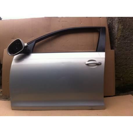 Porte avant conducteur pour VW Golf 6 / 7 / Jetta gris clair LR7L ref 1K5831301S / 1K5831105F
