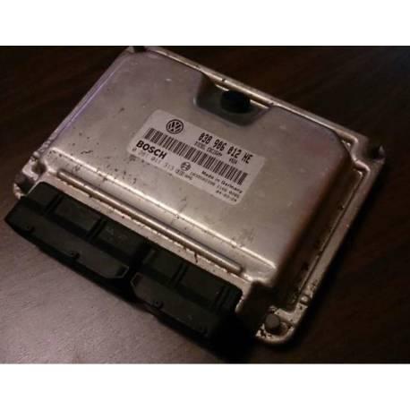 Calculateur moteur ref 038906012AR / 0281010109