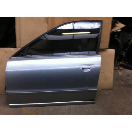 Porte avant conducteur pour Audi A4 B5 phase 1 coloris gris argent LY7M ref 8D0831051B