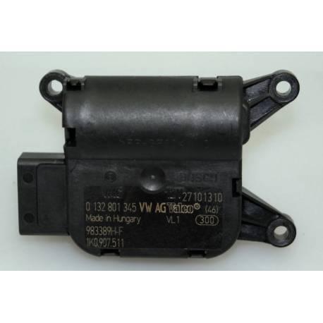 Servomoteur de volet central V70 / pour Audi / Seat / VW / Skoda ref 1K0907511 / Ref Bosch 0132801345