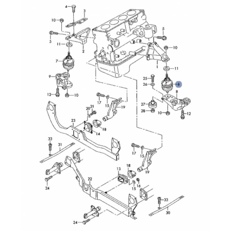 support moteur    coussinet hydraulique pour audi a4 ref 8e0199379l    8e0199379m    8e0199379ab