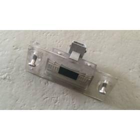 2 éclairages de plaque de police arrière