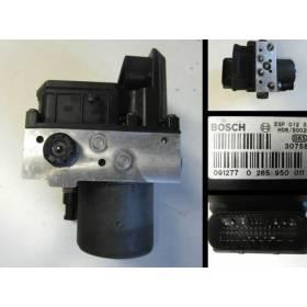 Bloc ABS pour Audi A4 ref 8E0614517 / 8E0614517B / 8E0614517N / 8E0614517L / Ref Bosch 0265225048 / 0265225045 / 0265950011
