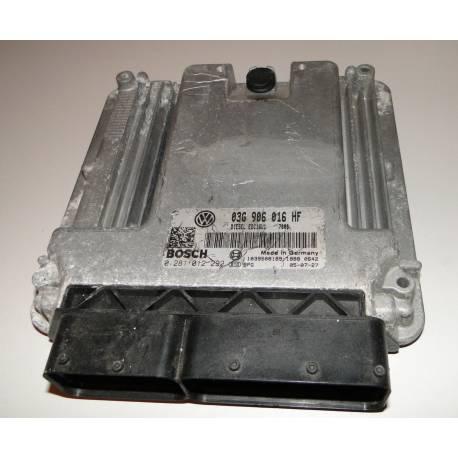 Calculateur moteur pour Skoda Octavia 2L TDI BKD 03G906016HF / Bosch 0281012292
