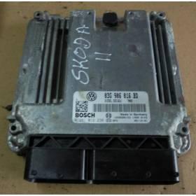 Calculateur moteur pour Skoda Octavia 1L9 TDI ref 03G906016BD / 03G 906 016 BD / 0281012236 / 0 281 012 236