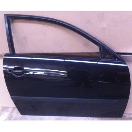 Porte avant passager coloris noir LC9Z pour Seat Ibiza 6L modèle 3 portes ref 6L3831056R