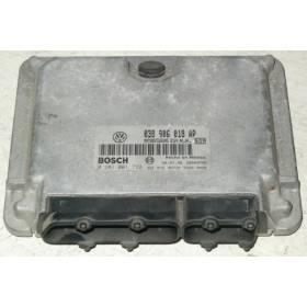 Calculateur moteur pour VW New Beetle / Golf 4 1L9 TDI 90 cv ALH ref 038906018AP / 038906018AE / 038906018HA / Bosch 0281021732
