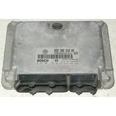 Engine control / unit ecu motor VW New Beetle / Golf 4 1L9 TDI 90 ALH 038906018AP / 038906018AE / 038906018HA / Bosch 0281021732