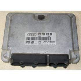 Calculateur moteur pour Audi A3 1L9 TDI 110 cv AHF ref 038906018BP / Ref Bosch 0281001848 / 0 281 001 848